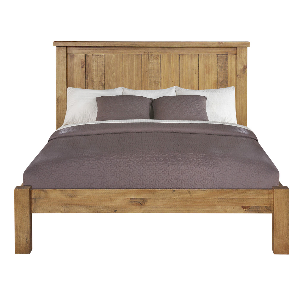 Gresford Rustic Low Foot End Bedstead
