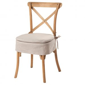 Milan Cross Back Chair