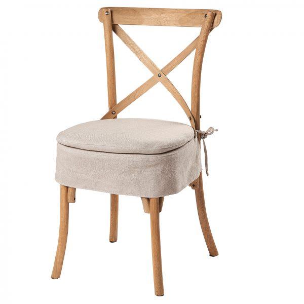 Milan Cross Back Chair