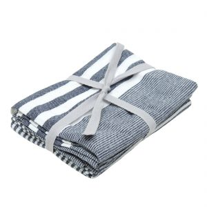 BLUE STRIPE | TEA TOWELS
