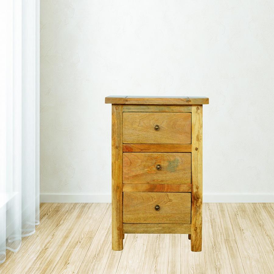 Mango Hill 3 Drawer Bedside