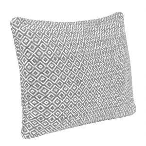 ORGANIC | GREY DIAMOND | RECTANGLE CUSHION