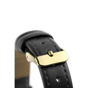 5th Avenue Collection // Gold & Black | Stitched Strap