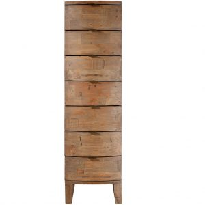 Caribbean Twist 7 Drawer Tall Chest