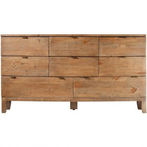 Caribbean Twist 8 Drawer Wide Chest