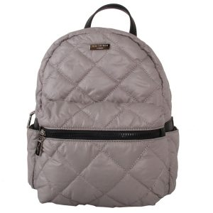 Silver | Padded Backpack