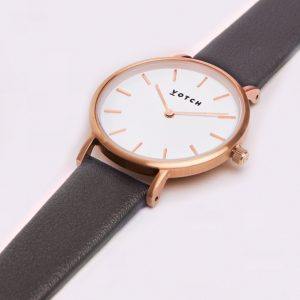 THE DARK GREY & ROSE GOLD | PETITE | VOTCH