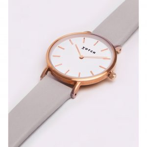 THE LIGHT GREY & ROSE GOLD | PETITE | VOTCH