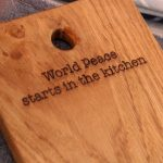 CHOPPING BOARD | WORLD PEACE