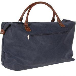 Large Blue & Tan | Overnight Bag