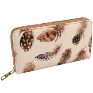 Large Feather Purse