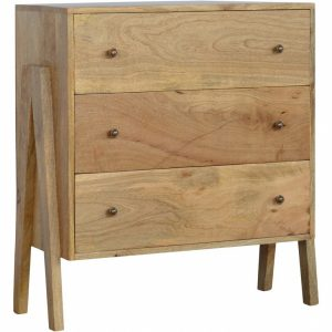 Mango Hill 3 Drawer V-shaped Chest