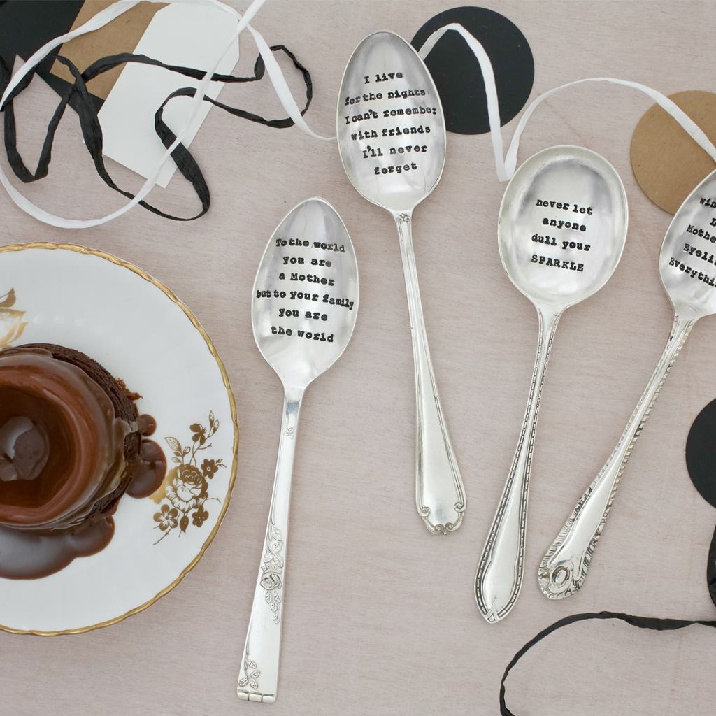 Dessert Spoon – 'Never Let Anyone Dull Your Sparkle'