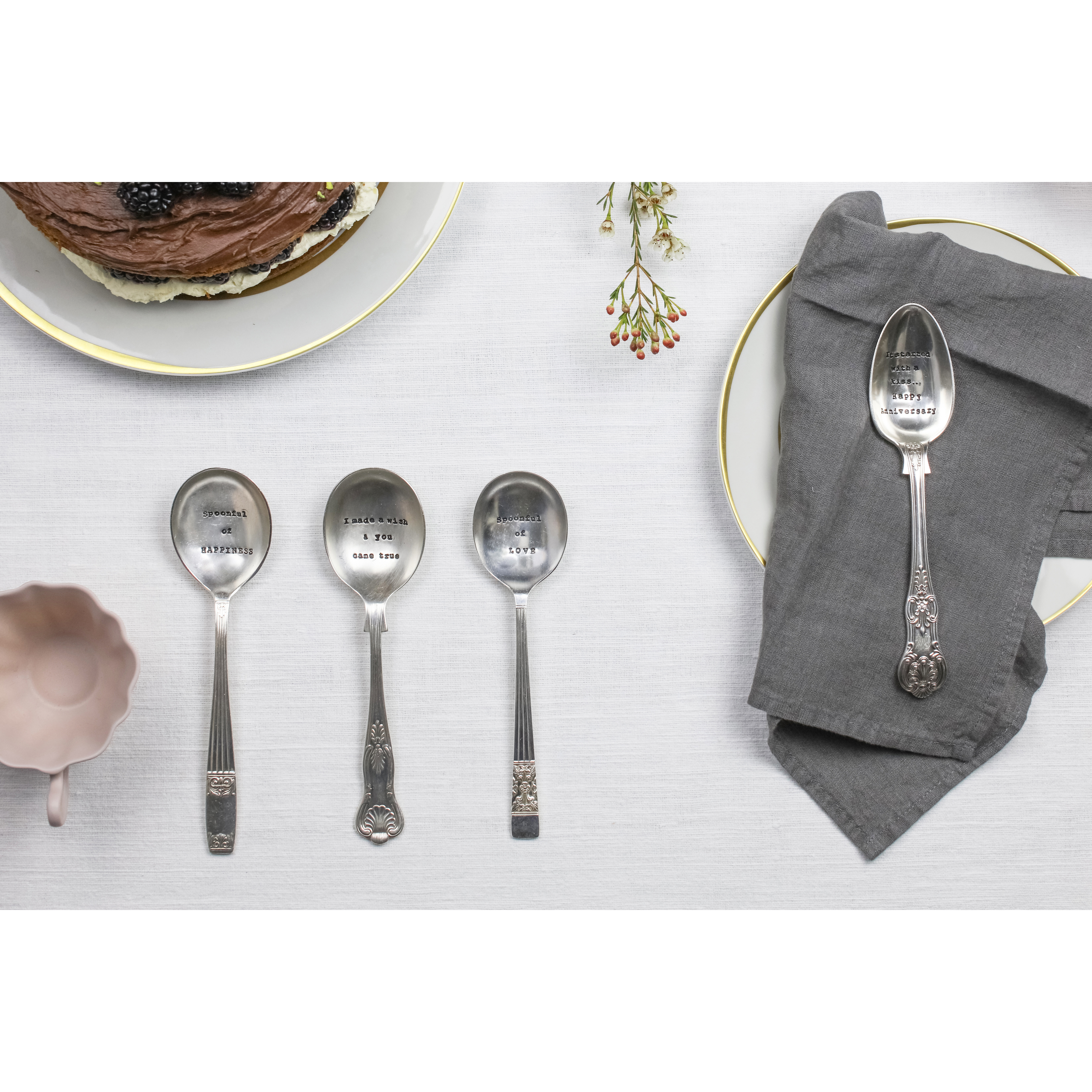 Dessert Spoon – 'A Mothers Treasure'
