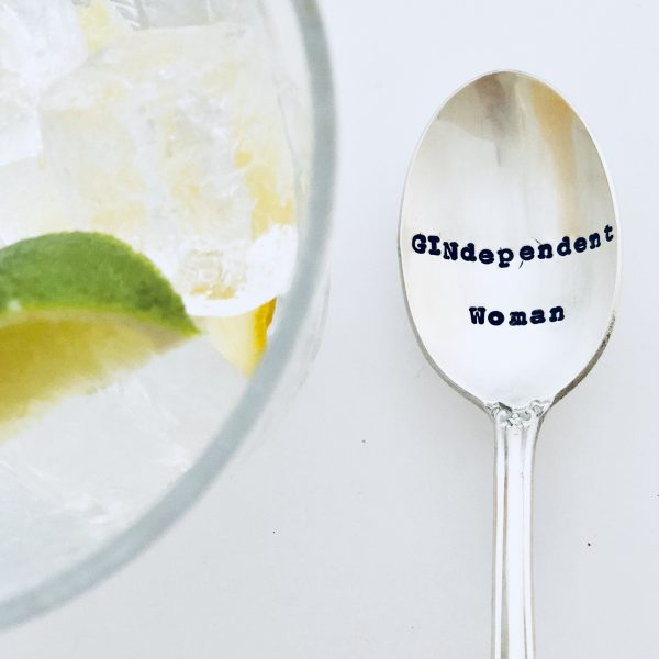 Teaspoon - 'Gindependant Woman'