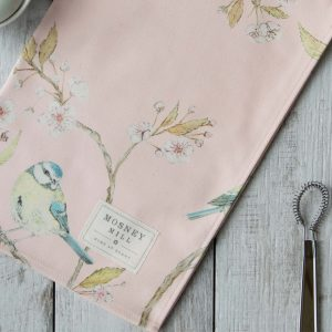 Blue Tit | Blossom Tea Towel