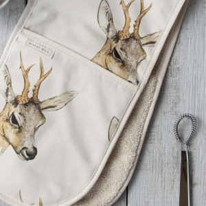 Deer | Double Oven Gloves