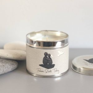 PEBBLE PEOPLE TIN CANDLE | FOREVER STARTS TODAY