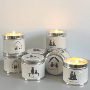 PEBBLE PEOPLE TIN CANDLE | MARVELLOUS MUM