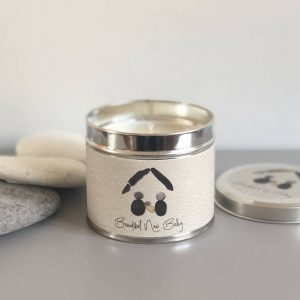 PEBBLE PEOPLE TIN CANDLE | NEW BABY