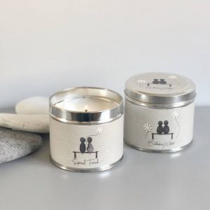 PEBBLE PEOPLE TIN CANDLE | SPECIAL FRIEND