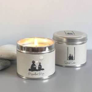 PEBBLE PEOPLE TIN CANDLE | SPECIAL SISTER