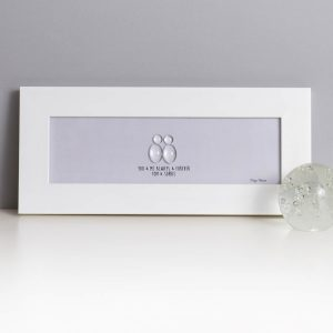 YOU & ME ALWAYS & FOREVER | GLASS PEBBLE PICTURE