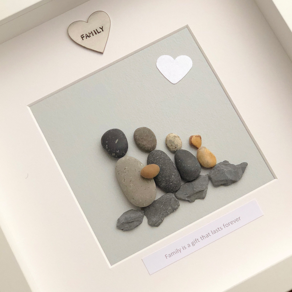 FAMILY IS A GIFT THAT LASTS FOREVER | PEBBLE PICTURE