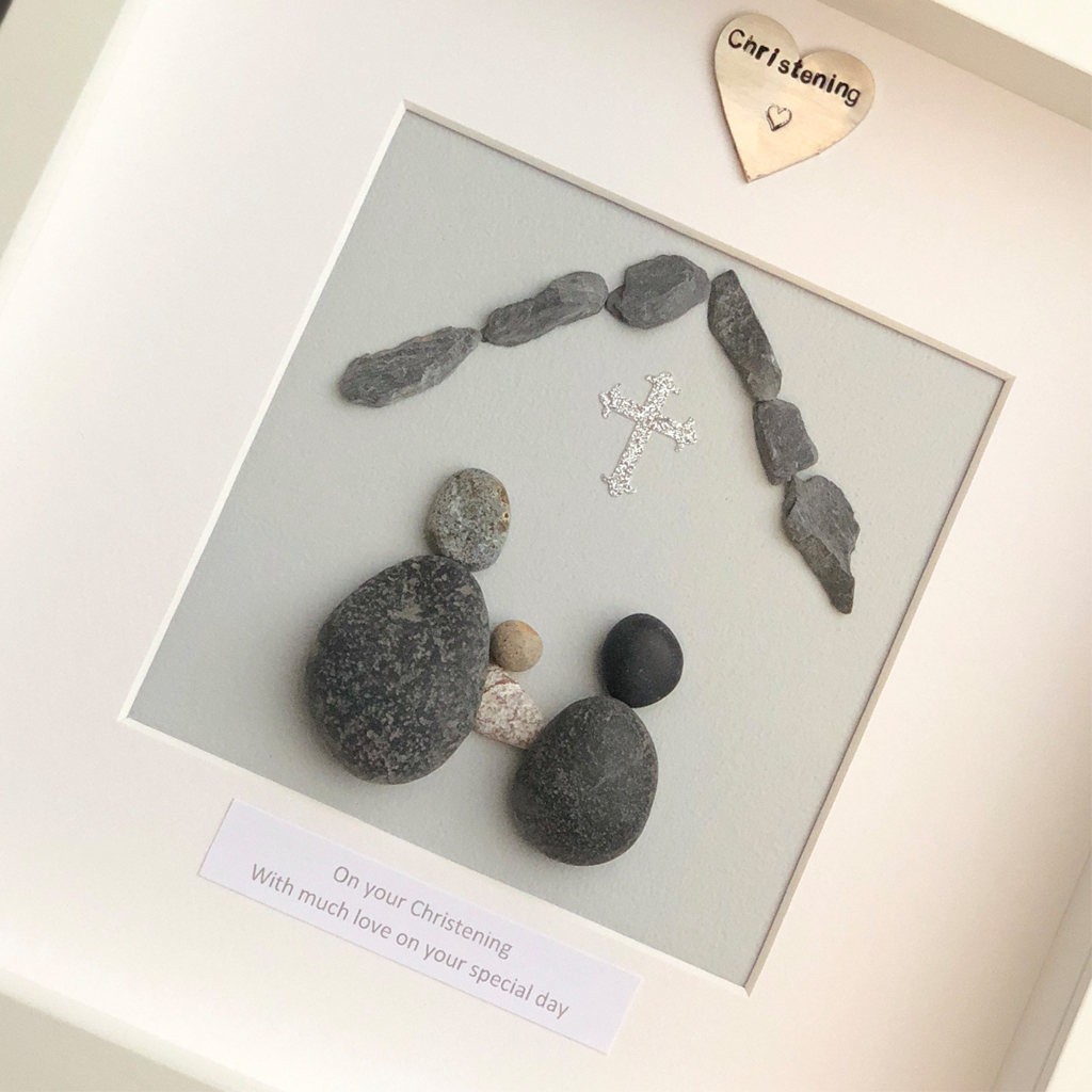 ON YOUR CHRISTENING | PEBBLE PICTURE