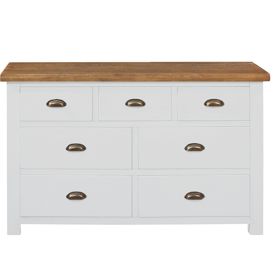 Gresford White 3+4 Wide Chest
