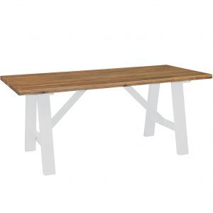 Gresford White Trestle Table 1800 x 900