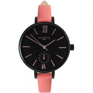 Woman's Amalfi Petite Collection // Black, Black & Coral