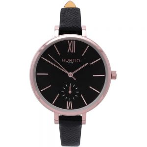 Woman's Amalfi Petite Collection // Rose Gold, Black & Black