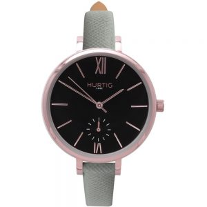 Woman's Amalfi Petite Collection // Rose Gold, Black & Grey