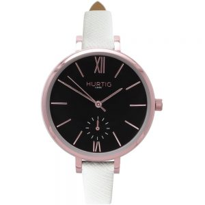 Woman's Amalfi Petite Collection // Rose Gold, Black & White