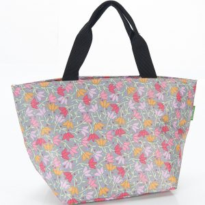 Grey Ditsy Doodle Lunch Bag
