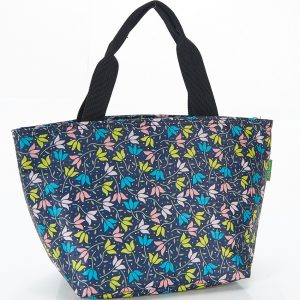 Navy Ditsy Doodle Lunch Bag
