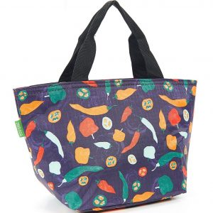 Purple Peppers Lunch Bag