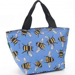 Blue Bees Lunch Bag