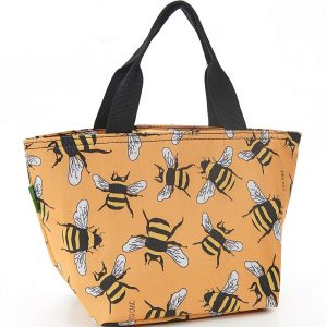 Yellow Bees Lunch Bag