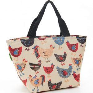 Beige Chicken Lunch Bag
