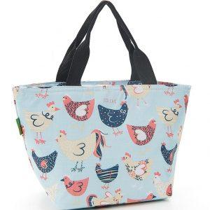 Blue Chicken Lunch Bag