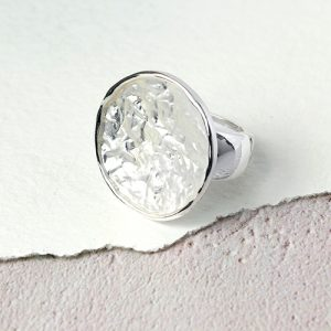 LARGE CRINKLE EFFECT | DISC RING