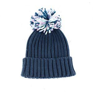 PETROL BLUE | POM POM HAT