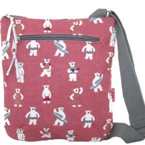 Pink Bears | Messenger Bag