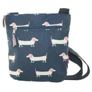 Slate Sausage Dog | Messenger Bag