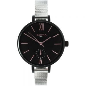 Woman's Amalfi Petite Collection // Black, Black & Silver