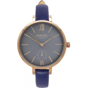 Woman's Amalfi Petite Collection // Gold, Grey & Marine Blue