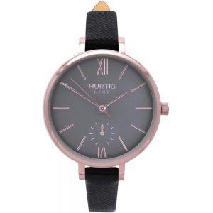 Woman's Amalfi Petite Collection // Rose Gold, Grey & Black