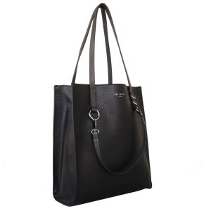 Black Contrast | Handle Shopper
